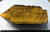 TIGERS EYE NATURAL POINT  A-GRADE GEMSTONE  105mm SOUTH AFRICA