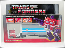 Transformers Classic Reissue G1 Optimus Prime + car metal front