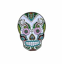 Sunny Buick Sugar Skull Lace Skull Lapel Hat Cap Pin Tie Tac FAST USA SHIPPING