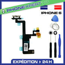NAPPE FLEX DU BOUTON POWER ON/OFF IPHONE 6 + OUTILS