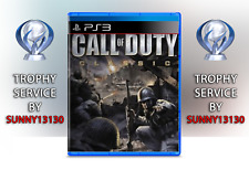 Call of Duty Classic PS3 Trophy Trophäen Platin Service