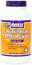 Nutritional Yeast 10 OZ POWDER by Now Foods Fast 1st Class Shipping