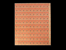 J88 POSTAGE DUE 1/2cent US Stamps MNH Sheet VF to XF++  CV$264++ RARE++Nice L@@K