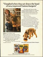 1975 Vintage ad for Gaines`Burgers Dog Food`Cute Mutt (051414)