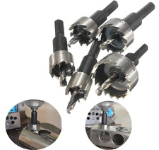 5pcs 16-30mm Hole Saw Cutter Drill Bit Set HSS Hole Saw Drill Sheet Metal Reamer