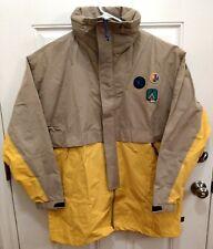 b8cca57f9c305 Adidas Pharrell Williams HU Human Race 3 Layer Jacket CE9491 Size XL Hemp  Yellow