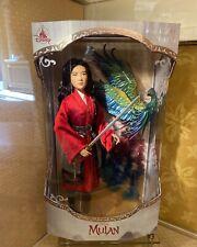 Disneyland Paris Park Mulan Limited Edition Doll 3400 Le Monde Phoenix