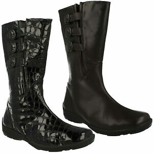 EASY B DB SYDNEY LADIES MID CALF FLAT EVERYDAY ROUND TOE CASUAL WINTER BOOTS