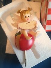 Enesco My Little Kitchen Fairies Apple Wall Hook