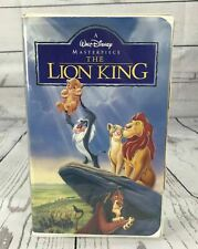 Disney VHS The Lion King Masterpiece Collection Video Tape
