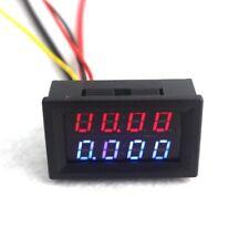 4 Bit Digital Voltmeter Ammeter Dc 200v Tester Monitor Current Car 24v 12v Guage