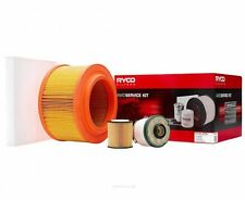 RYCO Oil CABIN Air Fuel Filter Service Kit Ford Ranger PX