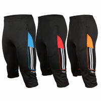 Men's Sports Soccer Football Athletic Training Track 3/4 3-Quater Pants Trousers