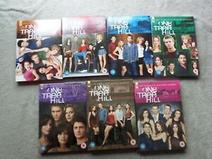 One Tree Hill TV complete seasons 1 to 7, some unopened - VGC - Region 2 DVD