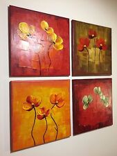 Hand Painted canvas Oil Paintings Free Next Day Delivery Framed Ready to Hang