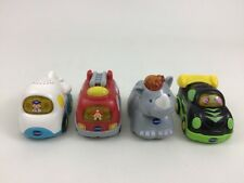 Go Go Smart Wheels Animals Toy Light Up Sounds Lot 4pc Vtech Firetruck Race Car