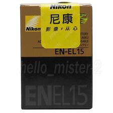 New Original Nikon EN-EL15 Battery for Nikon camera D610 D800 D7200