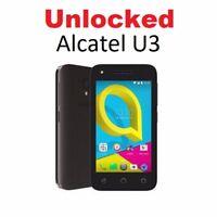 New Vodafone Alcatel U3 OT- 4055T 3G/4G/4GX Grey Phone Unlocked to All Networks