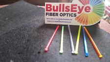 4 Fiberoptic replacement sight fiber optic rods .060 1.5mm 4 colors neon