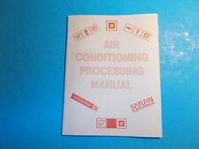 1989 GENERAL MOTORS  AIR CONDITIONING PROCESSING SERVICE TRAINING MANUAL