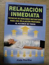 LA RELAJACION INMEDIATA TECNICAS DE DESCANSO INSTANTANEO RELAJACION PROFUNDA
