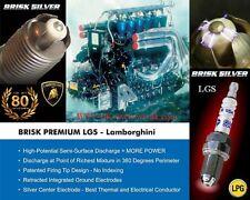 6x Toyota Sienna 3.3i y2003-2009 = Brisk High Performance LGS Silver Spark Plugs