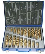 Set Punte trapano Spirale HSS Titanio nitrurato per metallo 170 Pz. BGS Technic