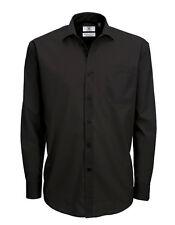 Camisas de vestir de hombre negro talla XXL