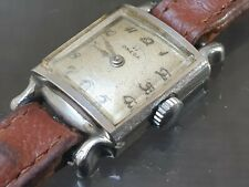 Omega Ladies Art Deco Watch 1939 15 Jeweled Fully Working.