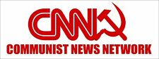 CNN Communist News Network Bumper Sticker