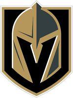 Los Vegas Golden Knights NHL Color Die Cut Vinyl Decal Sticker - You Choose Size
