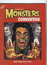 Worlds First Famous Monsters Convention  New York city 1974 Missing Pages 39/40