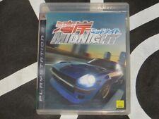 Playstation 3 PS3 Import Game Wangan Midnight Asian Japanese Language