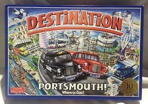 Destination Portsmouth Board Game Rare Award Winning 10 Year Anniversary Edition