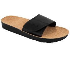 Size 10 Maseur Massage Sandal Shoes Black Cork Lining Footbed Footwear