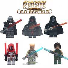 Star Wars Old Republic Set (x6) Minifigures -US Seller - Ships Immediately -NEW