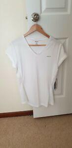 Reebok BNWT Ladies tennis Top Shirt fit Size 12