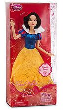 Disney Store Snow White Classic Doll 12'' H NEW