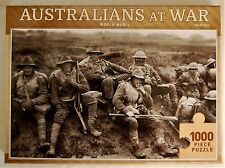 Australians at War 1000 Piece Jigsaw Puzzle 50 x 75cm World War I Diggers 5thDiv