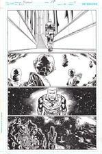 Green Lantern Corps #14 Peter J. Tomasi Story / Pasarin & Hanna Original Art Pg.