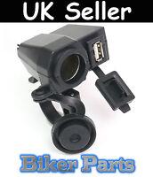 Motorbike Motorcycle GPS  sat nav USB Charger Power Adapter Socket Waterproof