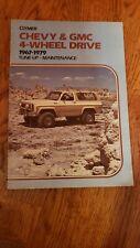 Clymer Chevy & Gmc 4-Wheel Drive 1967-1979 Tune-Up Maintenance Book