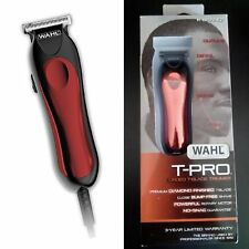 Wahl Professional Hair Trimmer T Liner Pro Clipper Haircut Bump Free Shave Kit