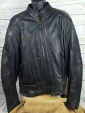 Harley-Davidson FXRG Vented Leather Riding Jacket Mens sz 2XL Heavy!