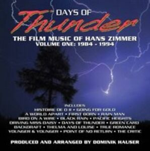 Days of Thunder: The Film Music of Hans Zimmer: Volume One: 1984-1994 CD New