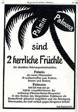 Ivo Puhonny Palmin und Palnona Pflanzenfett Historische Künstlerwerbung 1910