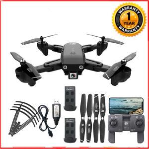CSJ S166 RC Drone con fotocamera 1080P GPS WIFI FPV con 2 batterie J1Y6