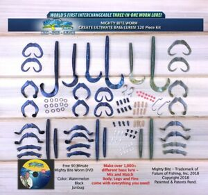 Mighty Bite Worm Kit - 150 Pieces