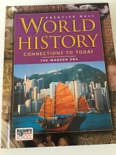 World History Connection To Today The Modern Era By Prentice Hall 2005
