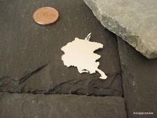 FRIAUL-JULISCH VENETIEN Landkarte Anhänger, 925er Silber, FRIULI-VENEZIA GIULIA